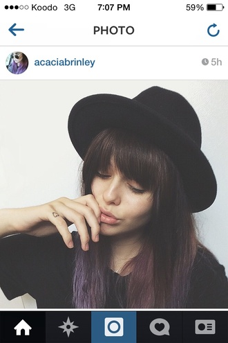 not floppy black acacia brinley