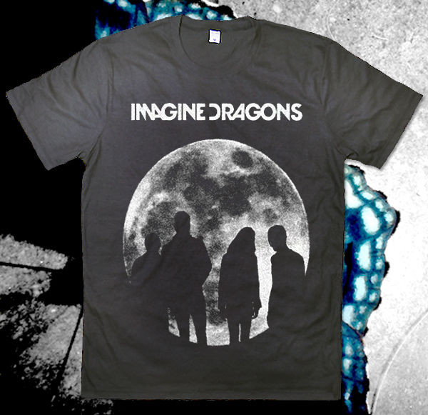 T Shirt Imagine Dragons Black T Shirt Wheretoget