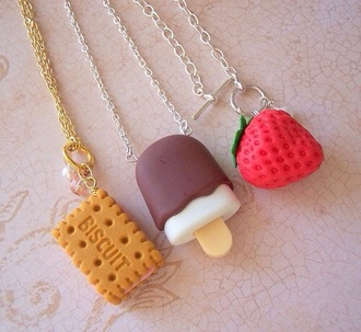 jewels strawberry ice cream candy fruits
