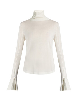 sweater silk wool