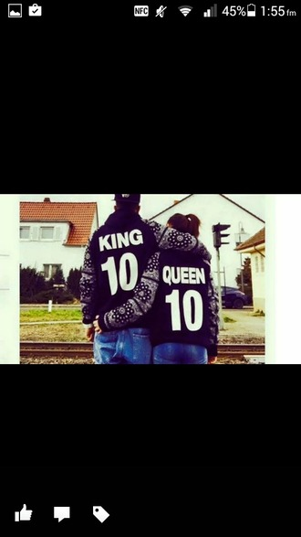 coat kimg queen love jacket boy girl together