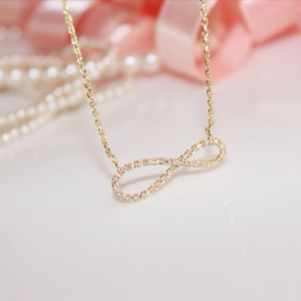jewels infinity necklace