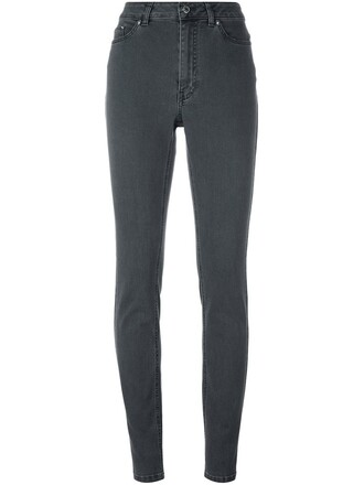 jeans skinny jeans women classic spandex cotton grey