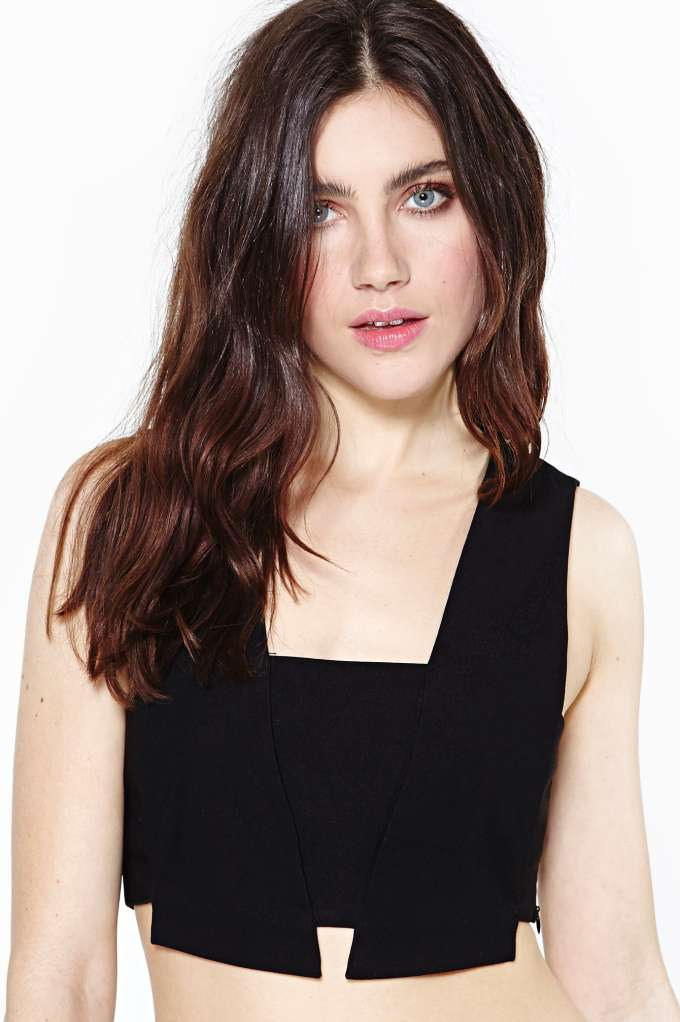 Nasty Gal Corrode Crop Tank in  Clothes Tops at Nasty Gal