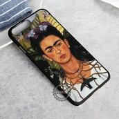 top,frida kahlo,painting,iphone case,phone cover,iphone x case,iphone 8 case,iphone7case,iphone7,iphone 6 case,iphone6,iphone 5 case,iphone 4 case,iphone4case