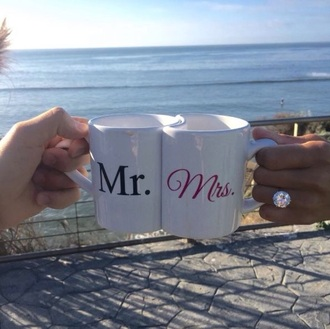 home accessory mug couple mr. mrs.