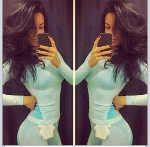top turquoise workout top cute excercise fitness fitness gym gym bunny running clothes
