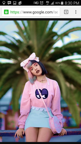 bag melanie martinez pink bag heart kawaii grunge