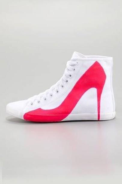 shoes sneacker high heels casual footwear white classy sneakers high top sneakers girls sneakers