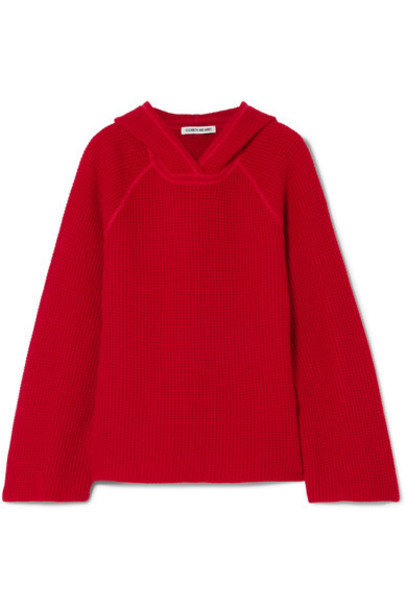 Elizabeth and James sweater knit red