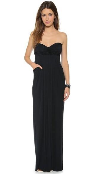 dress long black