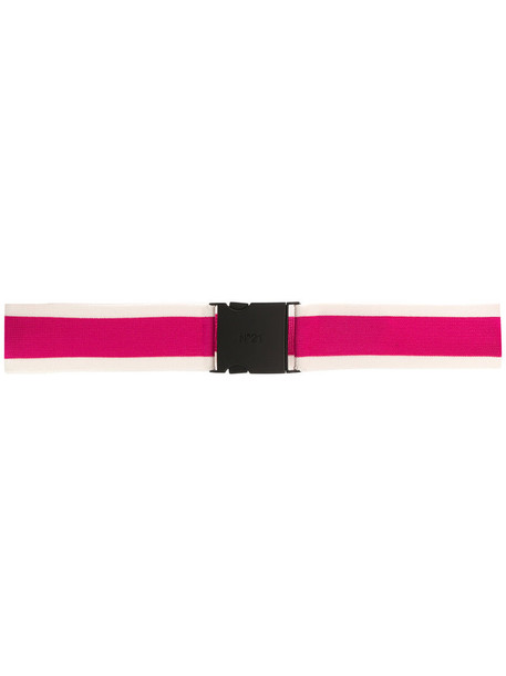 No21 women belt purple pink