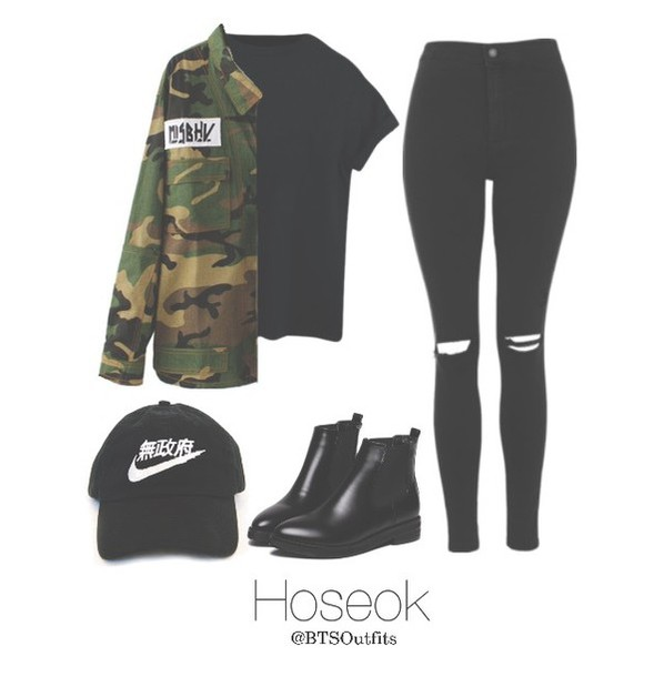 Top: hat, boots, kpop, bts jhope, jhope, shirt, pullover ...
