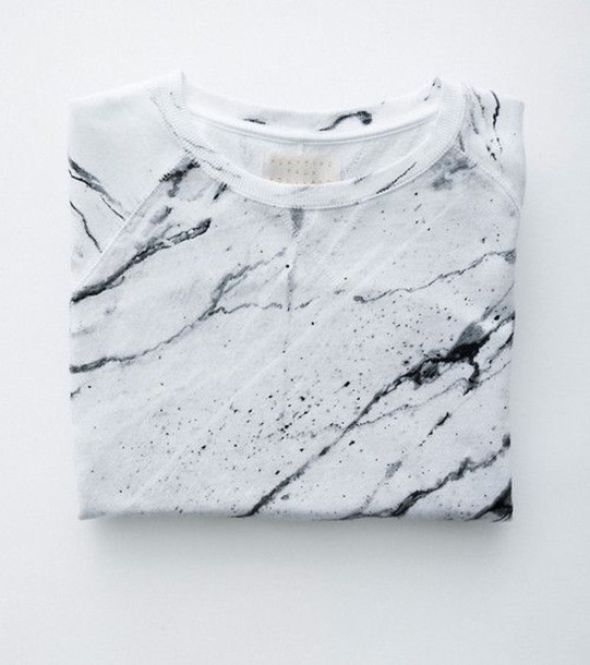 t-shirt marble trendy texture