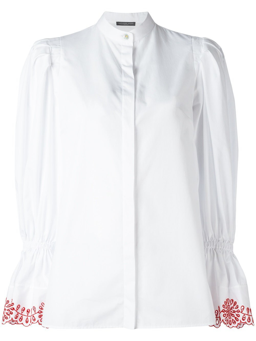 Купить Белую Блузку С Пышными Рукавами