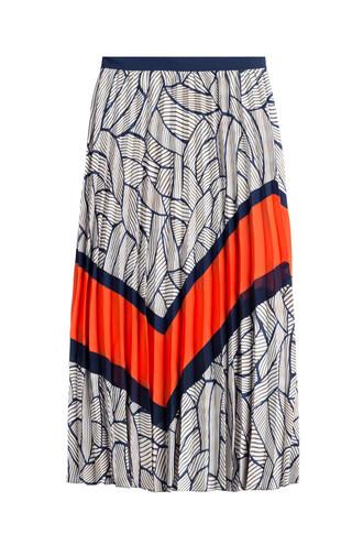 skirt pleated skirt pleated multicolor