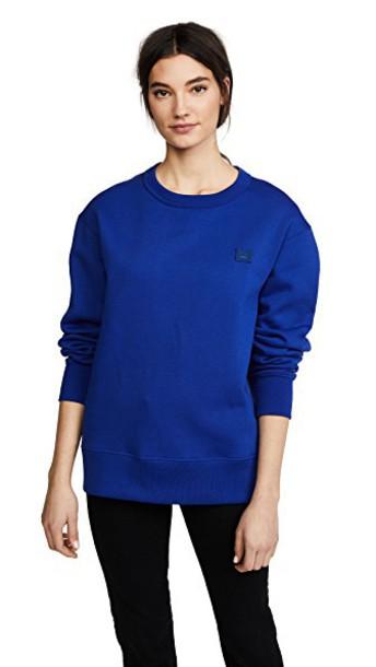 Acne Studios sweatshirt blue sweater