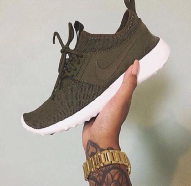d39a65cad5c9 shoes nike olive green nike roshe run nike roshe run tumblr