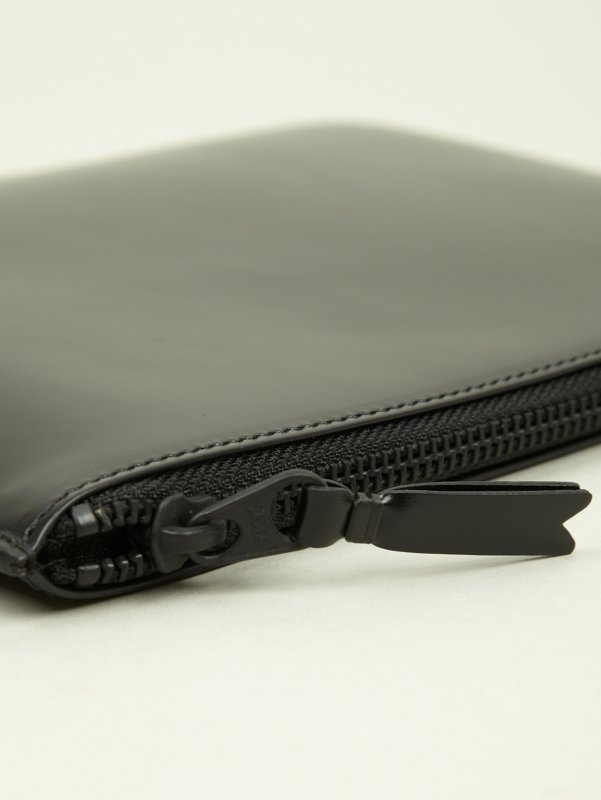 COMME des GARCONS Wallet Very Black Document Holder | oki-ni