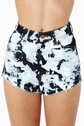 Alaina bleached shorts