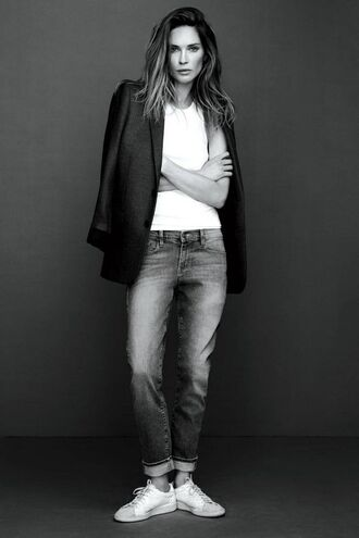 jeans sneakers erin wasson jacket