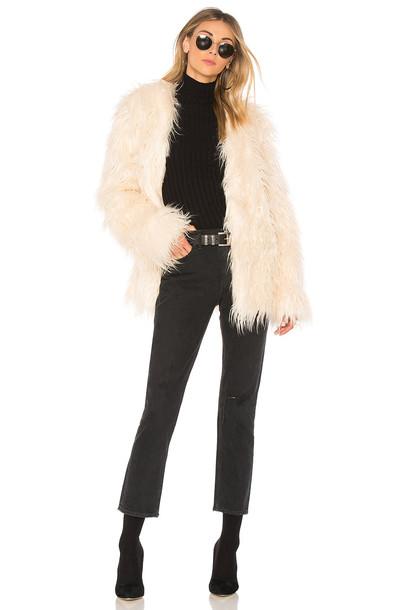Minkpink jacket fur jacket long fur
