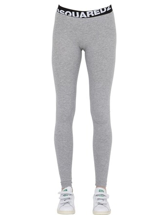 leggings cotton black grey pants