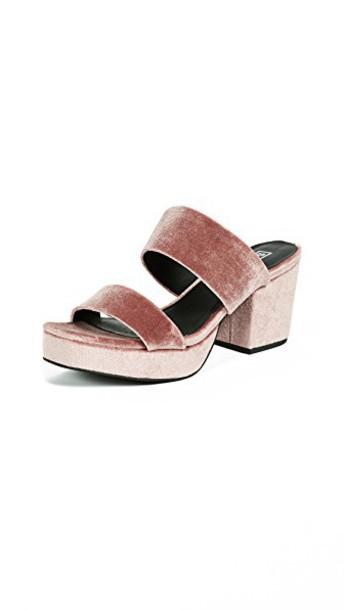Sol Sana sandals platform sandals rose shoes