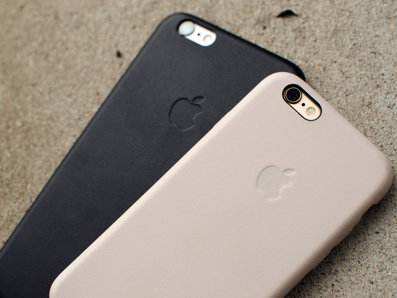 brand new 5bcbf a5c2d Review: Apple Leather Case for iPhone 6 and 6 Plus