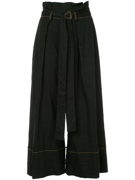 KITX cropped women spandex black pants
