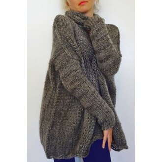 cardigan comfy warm winter outfits fashion sweater grey long sleeves knitwear