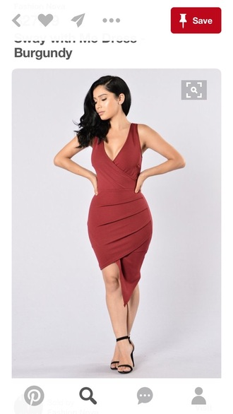 dress bodycon dress red dress