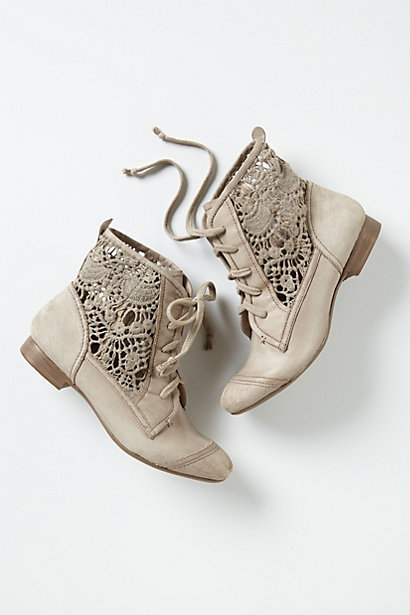 Annie . | Irene Lace Booties by Latigo on Luvocracy