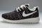 Nike roshe run pattern womens black flowers shoes (wv1321)