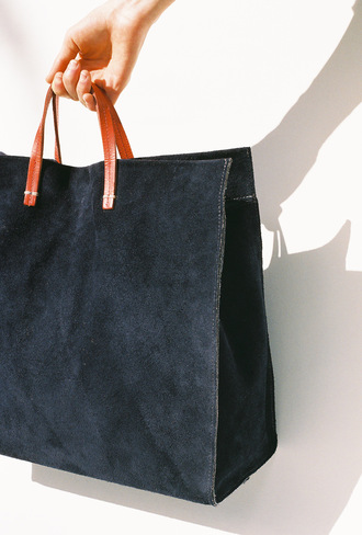bag tote bag navy bag navy suede suede bag maxi bag oversized spring french girl style