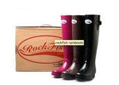 shoes,boots,rockfish rain boots,wellies,rockfish bow rainboots