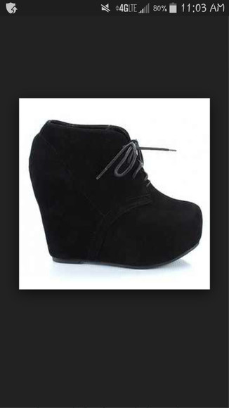 shoes platform shoes wedge booties