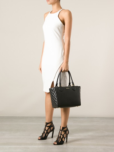 Michael Kors 'miranda' Large Quilted Side Tote - Dell'oglio - Farfetch.com