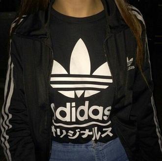 t-shirt tumblr pale ghetto soft rad adidas indie grunge