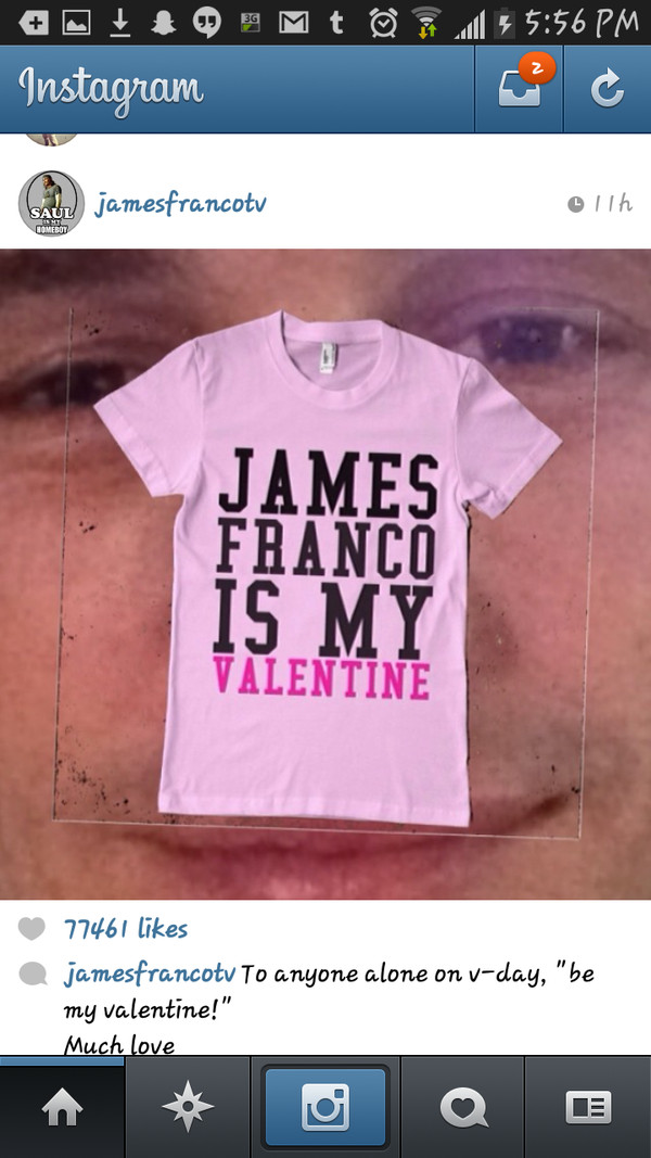 t-shirt james franco