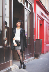 le monde de tokyobanhbao,coat,sweater,jewels,bag,shoes
