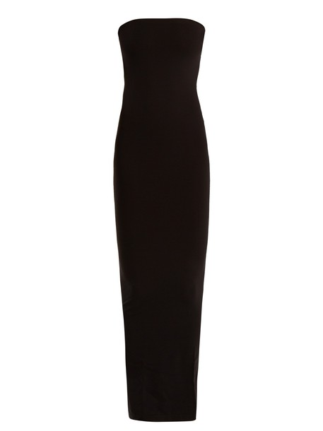 Wolford dress strapless dress strapless black