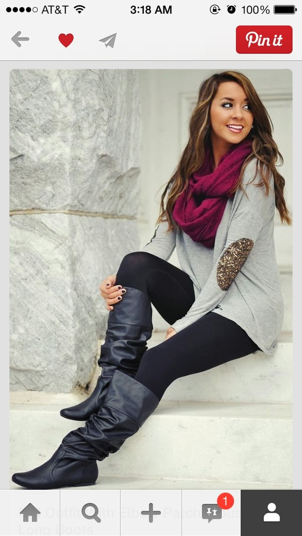 scarf rasberry infinity winter outfits winter outfits shoes sweater