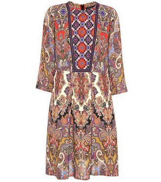 dress printed dress floral paisley