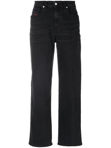 Diesel jeans women spandex cotton black