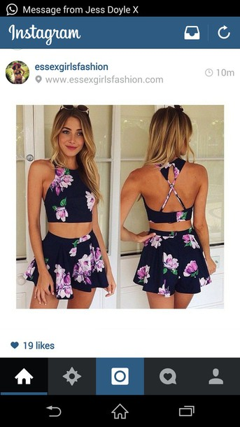 t-shirt dress skirt summer floral flowers shorts floral dress flowered shorts black crop top black shorts jumpsuit shirt