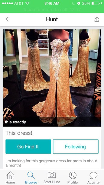 dress gold pretty cute gold dress prom dress sequin dress lace dress