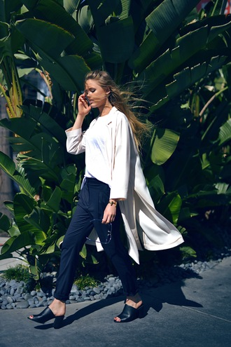 kayture blogger sunglasses pants top jacket jewels shoes