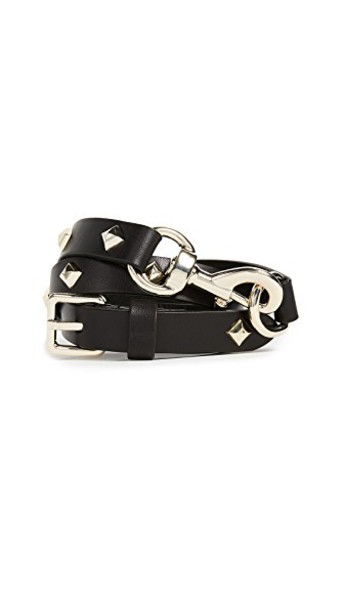 studded belt studded dog belt gold black