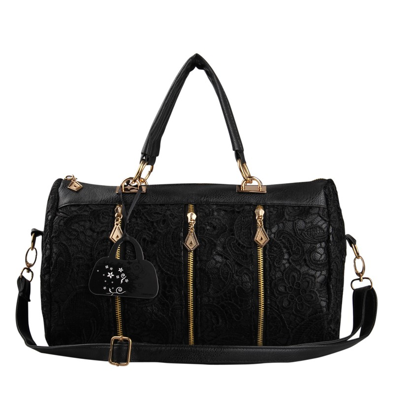 Dream of lovely sweet princess women lace satchel handbag